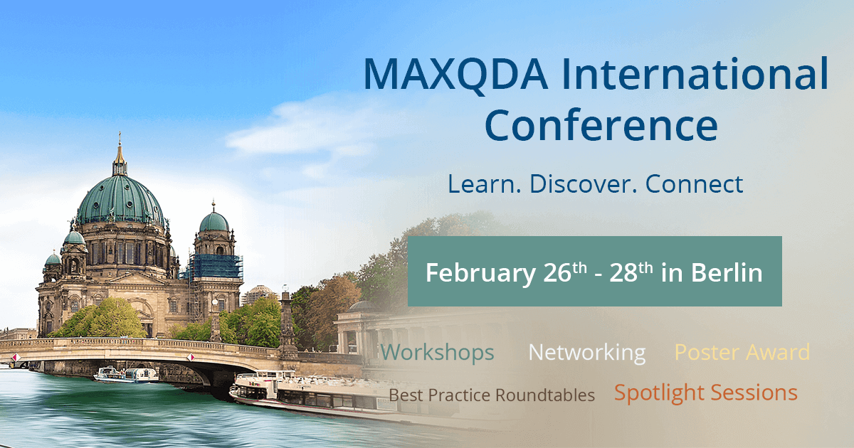 The MAXQDA International Conference (MQIC) 2020 in Berlin